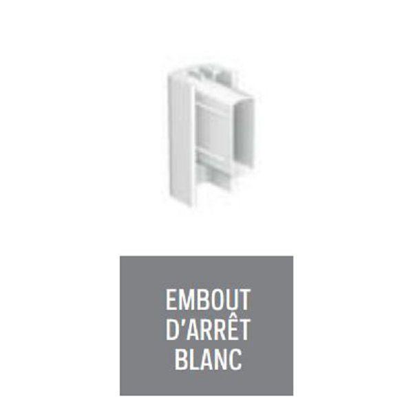 EMBOUT D ARRET BLANC POUR CLICK RAIL