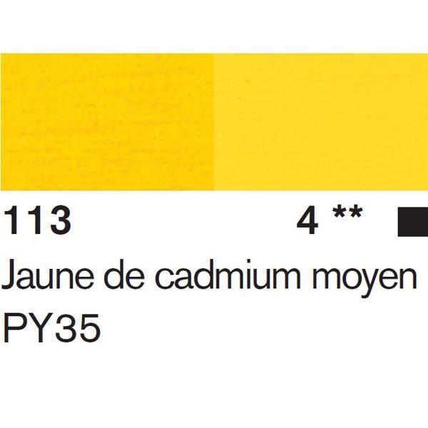 JAUNE DE CADMIUM MOYEN