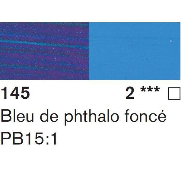 BLEU DE PHTALO FONCE