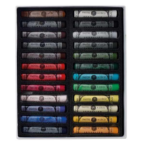 BOITE CARTON 24 PASTELS A L ECU INTRODUCTION
