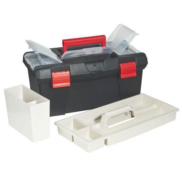 BOITE DE RANGEMENT PLASTIQUE GRAND MODELE 40 X 22 X 18.5 CM