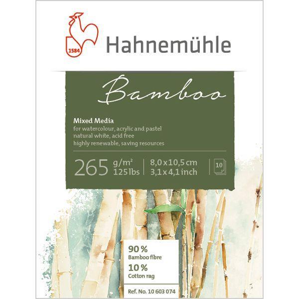 BAMBOO BLOC COLLE HAUT ET BAS 10 FEUILLES 265 G