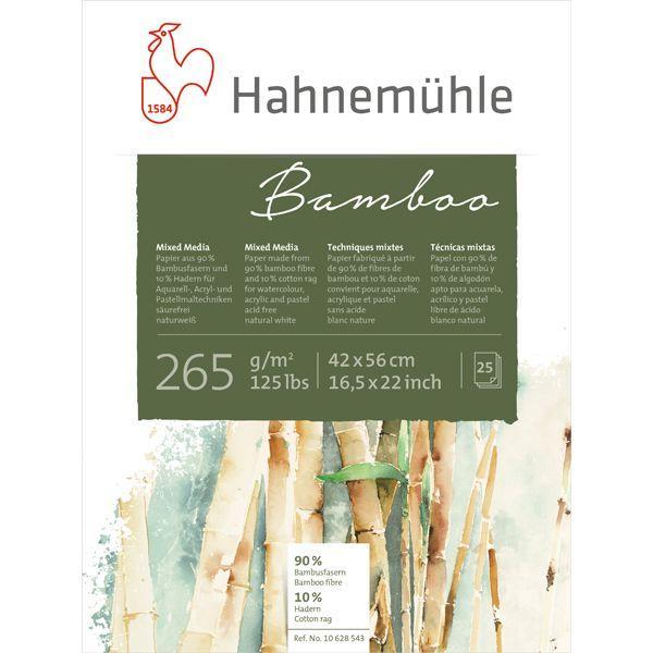 BAMBOO BLOC COLLE HAUT ET BAS 25 FEUILLES 265 G