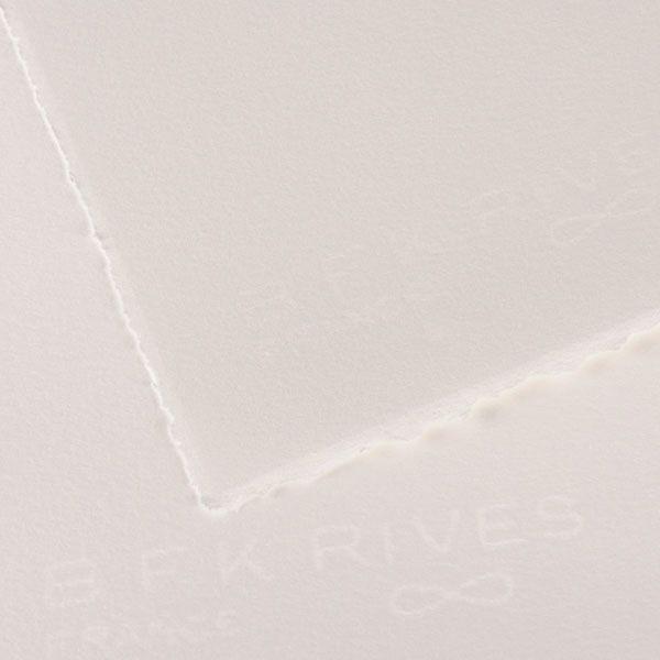 VELIN BFK RIVES RAME 100 FEUILLES VELIN BFK RIVES 63 X 90 270 G BLANC
