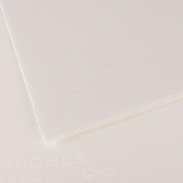 RAME 100 FEUILLES VELIN D ARCHES 56 X 76 250 G BLANC