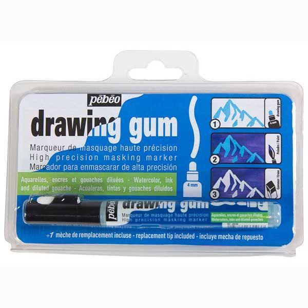 MARQUEUR DRAWING GUM POINTE 4 MM PEBEO