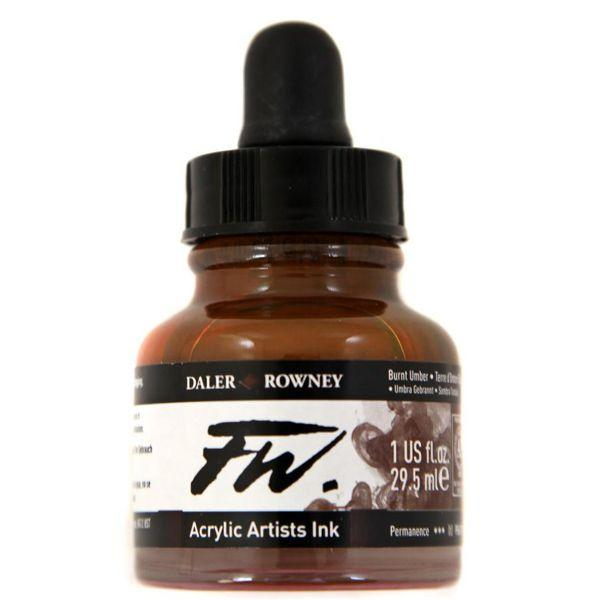 ENCRES ACRYLIQUES FW BURNT UMBER
