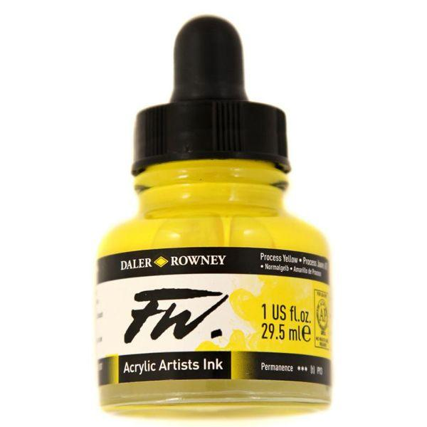 ENCRES ACRYLIQUES FW PROCESS YELLOW