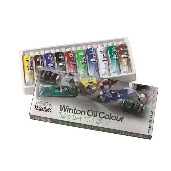 W.N.  SET CARTON 10 TUBES 37 ML WINTON
