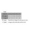 PINCEAUX PLATS FIBRES MIXTES SERIE 9286
