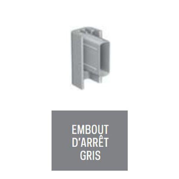 EMBOUT D ARRET GRIS POUR CLICK RAIL