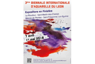 3è biennale internationnale d'aquarelle du Leon